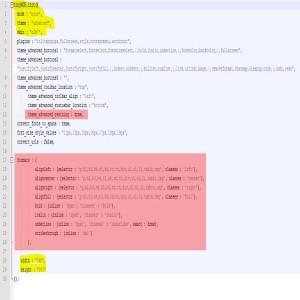 modification fichier éditeur de texte tinymce