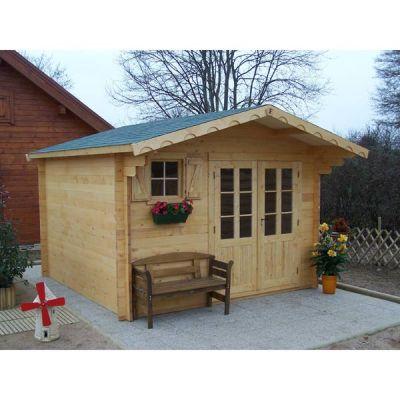 Abri de jardin en bois pas cher sur boutique internet - Abri de jardin pas chere ...