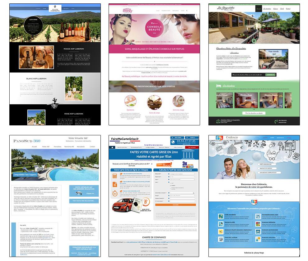 creation de site web pdf