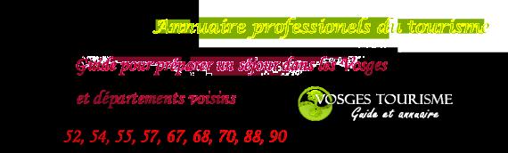 Annuaire tourisme Alsace-Lorraine