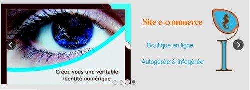 Identité Web Gérardmer : création site internet infogéré