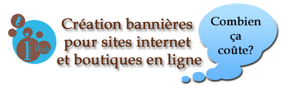Création bannières sites internet et e-commerce