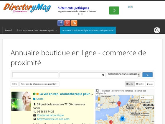 plugin annuaire wordpress sabai directory