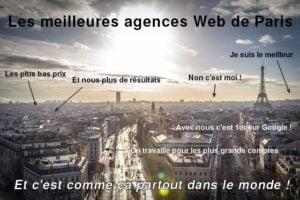 agence de référencement Paris meilleure ou pas