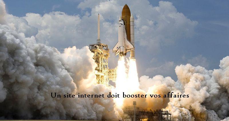 créer un site internet pour booster son activité