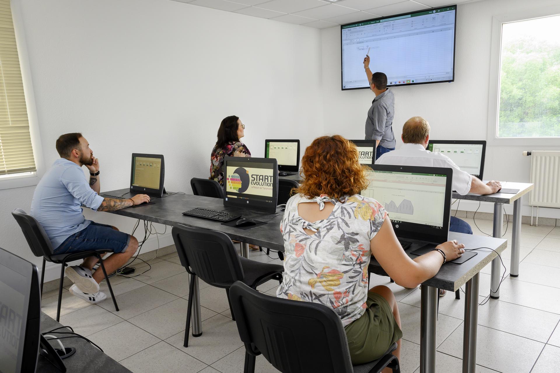 formation pour apprendre à créer un site internet